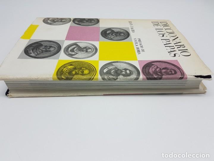 Libros antiguos: DICCIONÁRIO DE LOS PAPAS ( JUAN DACIO ) 1º EDICIÓN ( AÑO 1963 ) - Foto 10 - 190118371