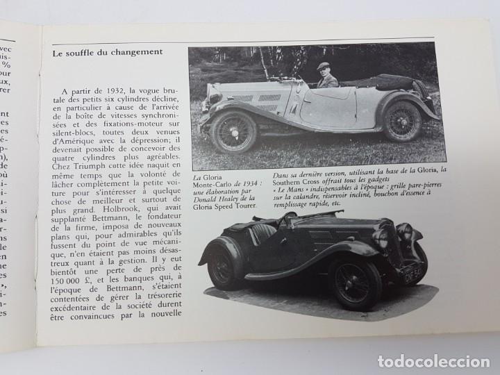 Libros antiguos: HISTÓRIA AUTOMÓVIL TRIUMPH, 1984 ( COLECCIÓN TOUTE LHISTORIE ) EN FRANCES - Foto 4 - 190120403