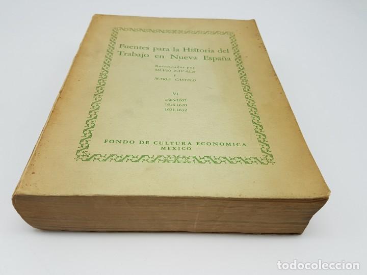 Libros antiguos: FUENTES PARA LA HISTÓRIA DEL TRABAJO EN NUEVA ESPAÑA ( TOMO VI ) 1606-1607-1616-1620-1621-1632 - Foto 2 - 190122385