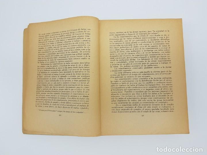 Libros antiguos: FUENTES PARA LA HISTÓRIA DEL TRABAJO EN NUEVA ESPAÑA ( TOMO VI ) 1606-1607-1616-1620-1621-1632 - Foto 4 - 190122385