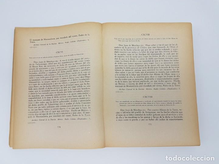 Libros antiguos: FUENTES PARA LA HISTÓRIA DEL TRABAJO EN NUEVA ESPAÑA ( TOMO VI ) 1606-1607-1616-1620-1621-1632 - Foto 6 - 190122385
