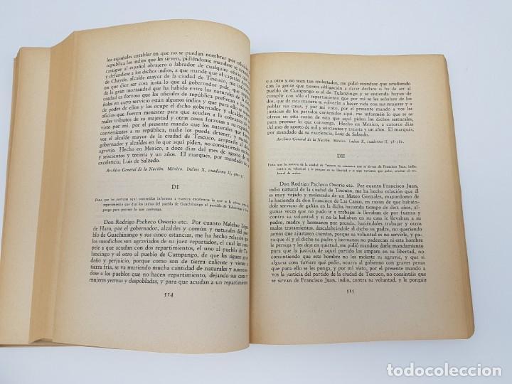 Libros antiguos: FUENTES PARA LA HISTÓRIA DEL TRABAJO EN NUEVA ESPAÑA ( TOMO VI ) 1606-1607-1616-1620-1621-1632 - Foto 8 - 190122385