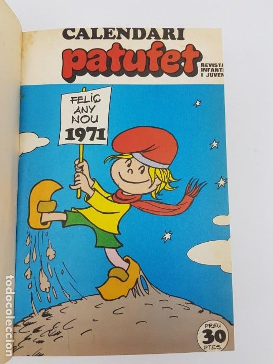 Libros antiguos: PATUFET ( 1971) ANY COMPLET - Foto 4 - 190122918