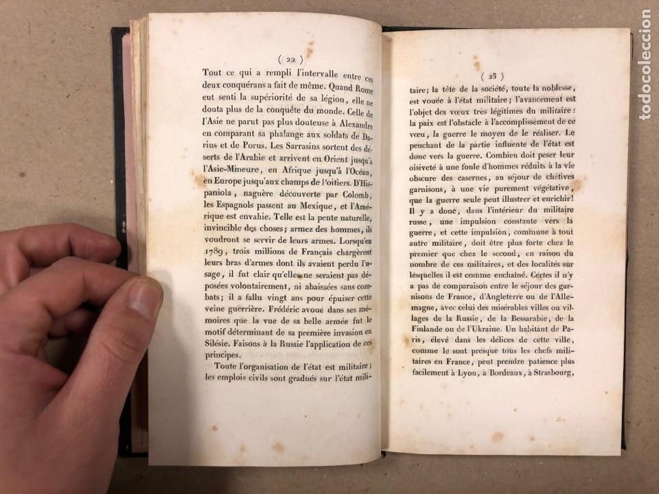 Libros antiguos: DU SYSTÈME PERMANENT DE L'EUROPE A L'ÉGARD DE LA RUSSIE ET LES AFFAIRES DE L'ORIENT. M. DE PRADT. - Foto 4 - 190175497