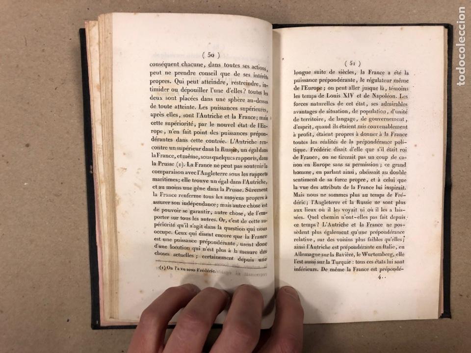 Libros antiguos: DU SYSTÈME PERMANENT DE L'EUROPE A L'ÉGARD DE LA RUSSIE ET LES AFFAIRES DE L'ORIENT. M. DE PRADT. - Foto 5 - 190175497