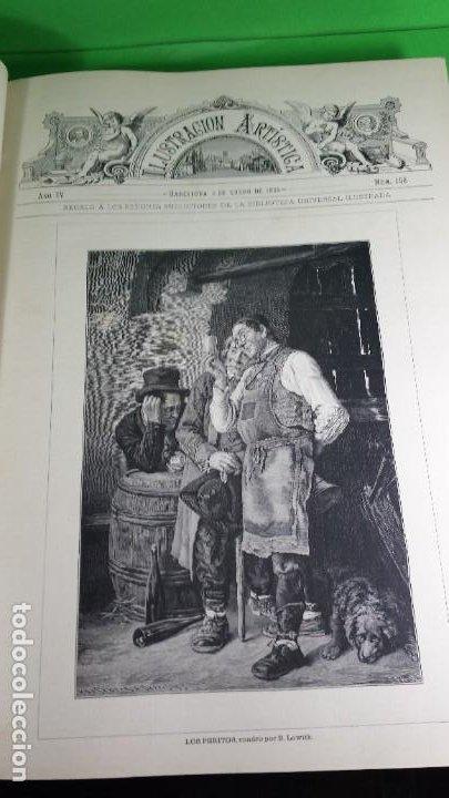 Libros antiguos: 1.885 LA ILUSTRACIÓN ARTÍSTICA. - Foto 7 - 190294572
