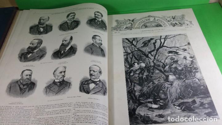 Libros antiguos: 1.885 LA ILUSTRACIÓN ARTÍSTICA. - Foto 9 - 190294572
