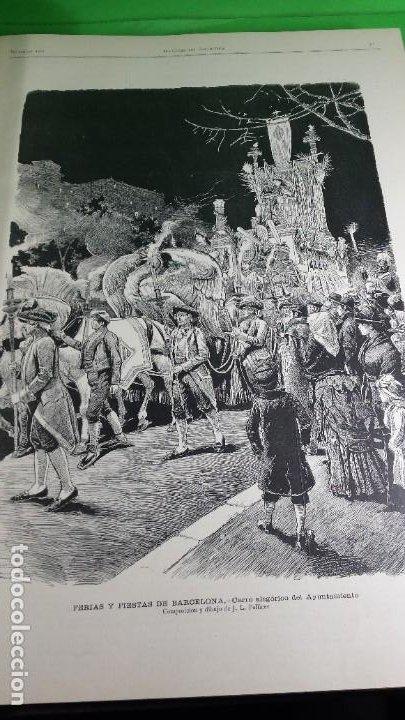 Libros antiguos: 1.885 LA ILUSTRACIÓN ARTÍSTICA. - Foto 13 - 190294572