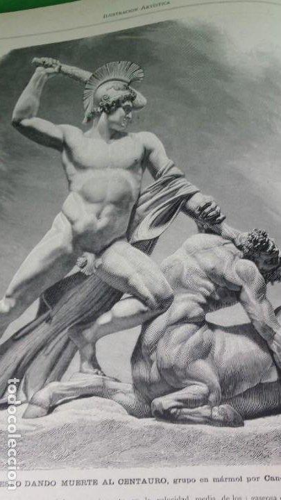 Libros antiguos: 1.885 LA ILUSTRACIÓN ARTÍSTICA. - Foto 19 - 190294572