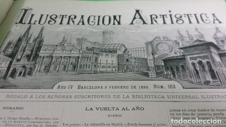 Libros antiguos: 1.885 LA ILUSTRACIÓN ARTÍSTICA. - Foto 20 - 190294572