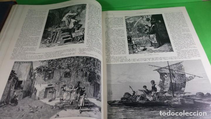 Libros antiguos: 1.885 LA ILUSTRACIÓN ARTÍSTICA. - Foto 25 - 190294572