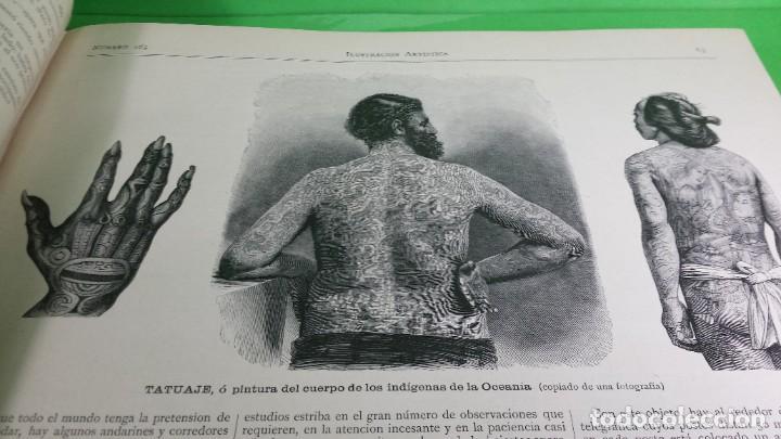 Libros antiguos: 1.885 LA ILUSTRACIÓN ARTÍSTICA. - Foto 27 - 190294572