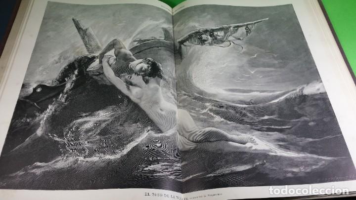 Libros antiguos: 1.885 LA ILUSTRACIÓN ARTÍSTICA. - Foto 38 - 190294572
