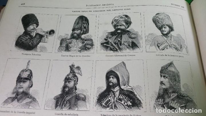 Libros antiguos: 1.885 LA ILUSTRACIÓN ARTÍSTICA. - Foto 45 - 190294572