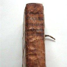 Libros antiguos: COMENTO DEL P. OVIDIO NASON A LOS LIBROS DE TRISTES Y PONTO. MADRID, 1733. DEDICADO A BADAJOZ . Lote 190378266