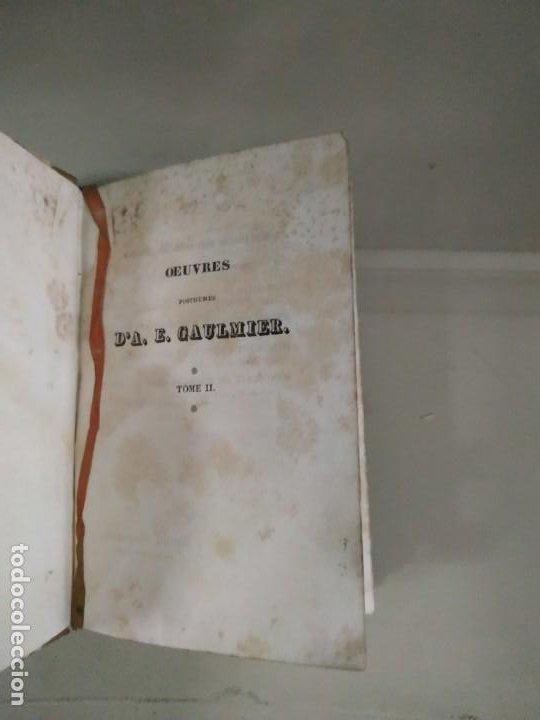 Libros antiguos: Oeuvres Postumes DA. E. Gaulmier Tome II. 1830 - Foto 5 - 190427100