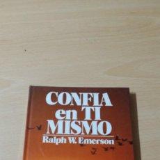 Livres anciens: CONFIA EN TI MISMO - RALPH W EMERSON - EDICIONES 29/ TXT71-72 AB. Lote 190473652
