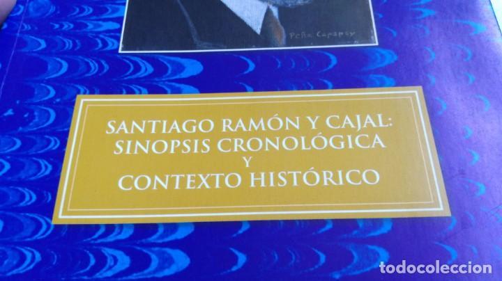 Libros antiguos: SANTIAGO RAMON Y CAJAL SINOPSIS CRONOLOGIA Y CONTEXTO HISTORICO - FERNANDO SOLSONA/ D303 - Foto 2 - 190475617