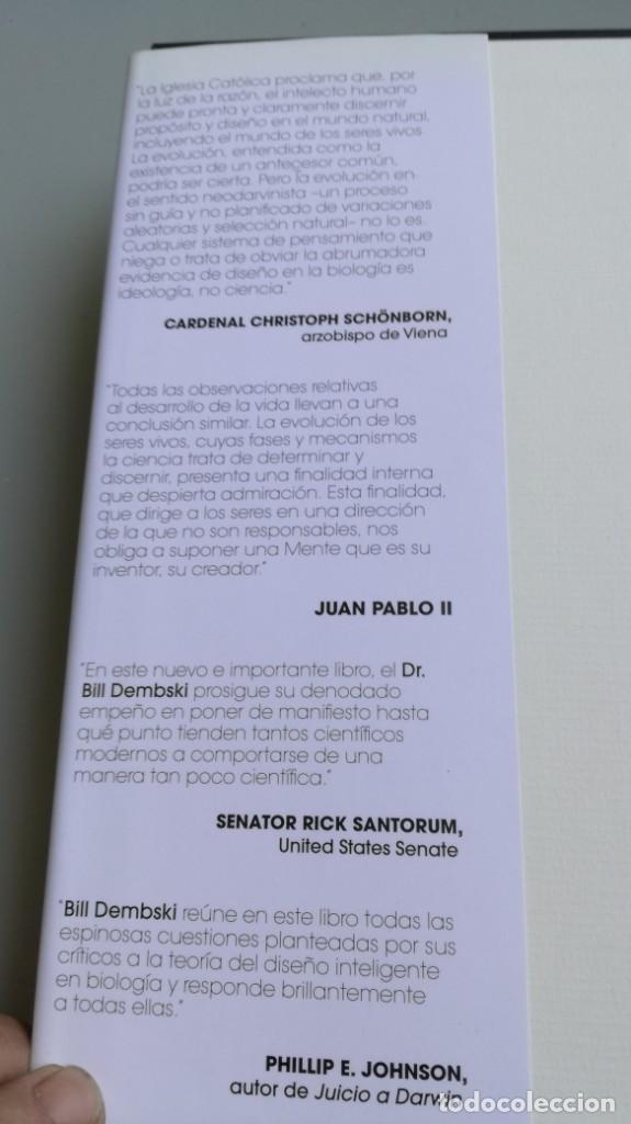 Libros antiguos: DISEÑO INTELIGENTE - WILLIAM A DEMBSKI - RESPUESTAS CUESTIONES MAS ESPINOSAS/ D303 - Foto 4 - 190475986