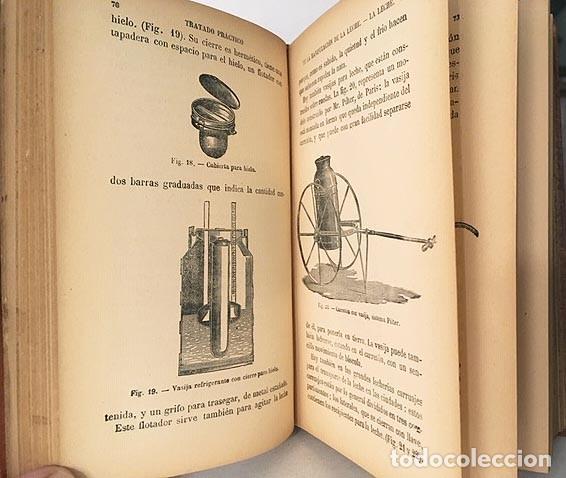 Libros antiguos: Tratado práctico de la manipulación de la leche. (1890) Leche, crema, manteca y quesos. - Foto 3 - 190524426