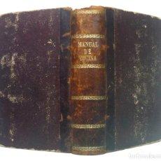 Libros antiguos: 1881 - RARO LIBRO DE GASTRONOMÍA - COCINA ESPAÑOLA, FRANCESA - RECETAS - PASTELERÍA, CONFITERÍA. Lote 190689581