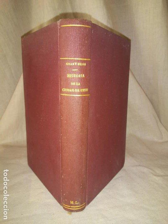 Libros antiguos: HISTORIA DE LA CIUDAD DE REUS - AÑO 1906 - F.GRAS - ILUSTRADO. - Foto 2 - 190706195