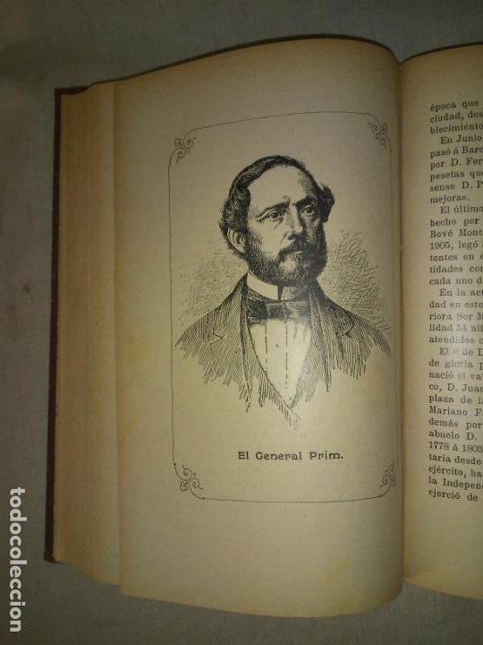 Libros antiguos: HISTORIA DE LA CIUDAD DE REUS - AÑO 1906 - F.GRAS - ILUSTRADO. - Foto 6 - 190706195