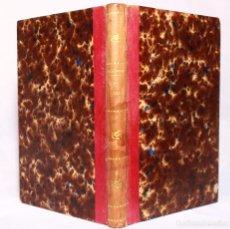 Libros antiguos: LA LUNA POR AMADEO GUILLEMIN. VERSIÓN ESPAÑOLA POR D. JOSÉ PASTOR DE LA ROCA.. Lote 190707951