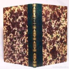 Libros antiguos: ARTE DE PROLONGAR LA VIDA Y DE CONSERVAR LA SALUD. D. MALVINA CADOT. PARÍS LEFEVRE 1853 HOMEOPATÍA. Lote 190708013