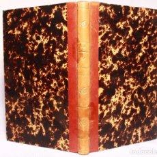 Libros antiguos: LA HIDRÁULICA POR E. MARZY. VIZCONDE DE SAN JAVIER. GASPAR, EDITORES. MADRID. 1880.. Lote 209636221
