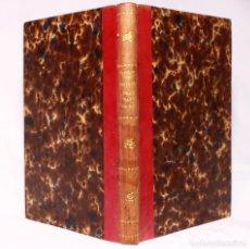 Libros antiguos: HISTORIA DE UN RAYO DE SOL, POR F. PAPILLON. IMPRENTA DE GASPAR Y ROIG, EDITORES. 1875 H.. Lote 190708035