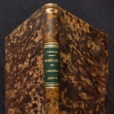 Libros antiguos: MANUAL DE LOGISMOGRAFÍA. TEORÍA Y APLICACIONES POR CELESTINO CHIESA. 1879. CONTABILIDAD.. Lote 190708040