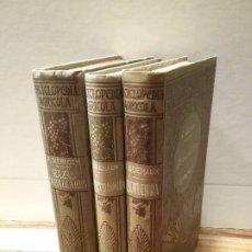 Libros antiguos: ENCICLOPEDIA ARÍCOLA (3 TOMOS). Lote 190753708