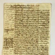 Libros antiguos: [MANUSCRITO.] [NOTIFICACIÓN DE LA JURISDICCIÓN DEL NUEVO DUQUE DE MEDINACELI Y DE CARDONA.]. Lote 123152910