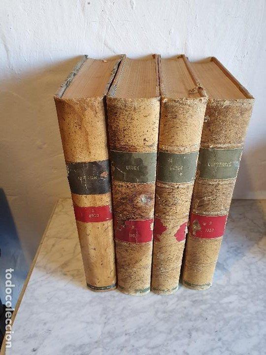 ANUARIOS ALEMANES 4 TOMOS (Libros Antiguos, Raros y Curiosos - Bellas artes, ocio y coleccionismo - Otros)