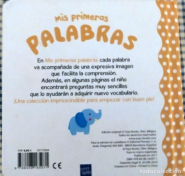 Libros antiguos: MIS PRIMERAS PALABRAS - Foto 3 - 190885842