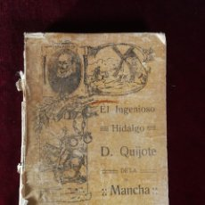 Libros antiguos: EL INGENIOSO HIDALGO DON QUIJOTE DE LA MANCHA MADRID 1915 MIGUEL DE CERVANTES - ALEU 1915. Lote 190909340