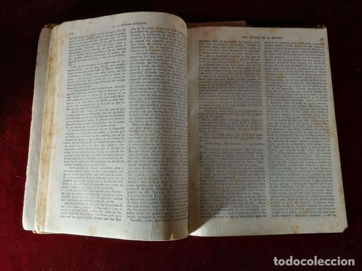 Libros antiguos: El ingenioso hidalgo Don Quijote de la Mancha Madrid 1915 Miguel de Cervantes - Aleu 1915 - Foto 3 - 190909340