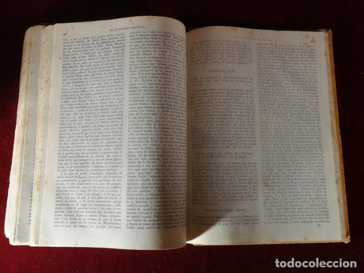 Libros antiguos: El ingenioso hidalgo Don Quijote de la Mancha Madrid 1915 Miguel de Cervantes - Aleu 1915 - Foto 4 - 190909340