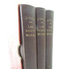 Libros antiguos: 3 TOMOS- EL PARNASO ESPAÑOL, Ó LAS NUEVE MUSAS DE DON FRANCISCO DE QUEVEDO AÑO 1886-ED.CARRANQUE . Lote 190981382
