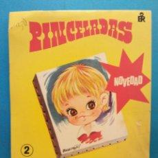 Libros antiguos: PINCELADAS Nº2. NOVEDAD COLORES SOLUBLES. EDITORIAL ROMA. Lote 191036513