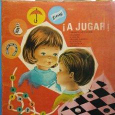 Libros antiguos: A JUGAR Nº2. CONJUNTO DE SEIS JUEGOS. EDITORIAL ROMA. Lote 191036680