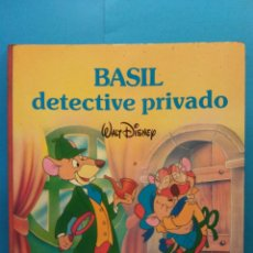 Libros antiguos: BASIL DETECTIVE PRIVADO. WALT DISNEY. PLAZA Y JANES EDICIONES. Lote 191038821