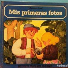 Libros antiguos: MIS PRIMERAS FOTOS. ¿HACEMOS FOTOS?. INSTITUTO PARRAMON EDICIONES. Lote 191039138