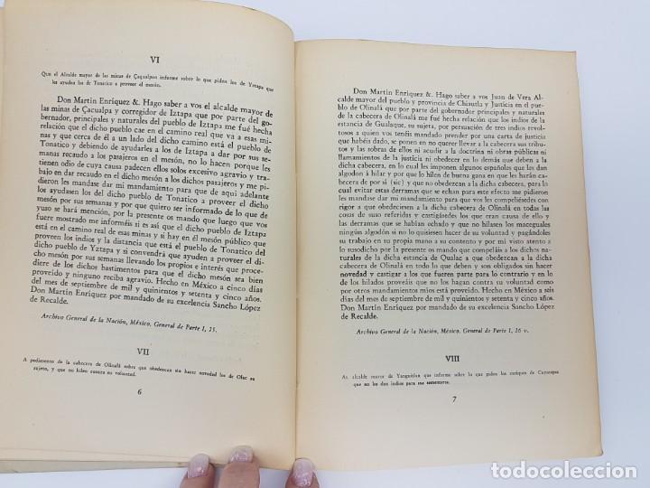 Libros antiguos: FUENTES PARA LA HISTÓRIA DEL TRABAJO EN NUEVA ESPAÑA ( TOMO I ) 1575-1576 - Foto 4 - 191058231