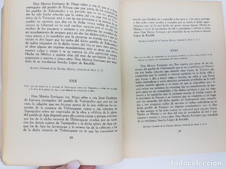 Libros antiguos: FUENTES PARA LA HISTÓRIA DEL TRABAJO EN NUEVA ESPAÑA ( TOMO I ) 1575-1576 - Foto 5 - 191058231