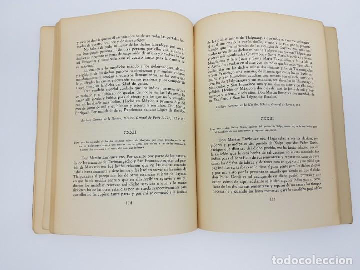 Libros antiguos: FUENTES PARA LA HISTÓRIA DEL TRABAJO EN NUEVA ESPAÑA ( TOMO I ) 1575-1576 - Foto 6 - 191058231