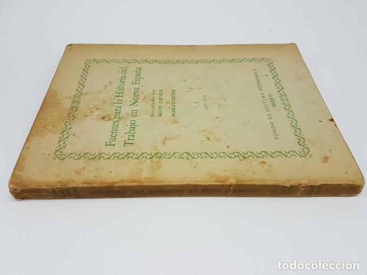 Libros antiguos: FUENTES PARA LA HISTÓRIA DEL TRABAJO EN NUEVA ESPAÑA ( TOMO I ) 1575-1576 - Foto 9 - 191058231