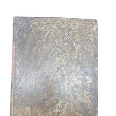 Libros antiguos: MANUAL DE ESPROPIACIÓN FORZOSA PÚBLICA, MADRID 1861 ( DESPLEGABLE ). Lote 191058745