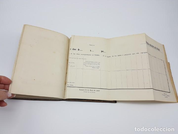 Libros antiguos: MANUAL DE ESPROPIACIÓN FORZOSA PÚBLICA, MADRID 1861 ( DESPLEGABLE ) - Foto 8 - 191058745
